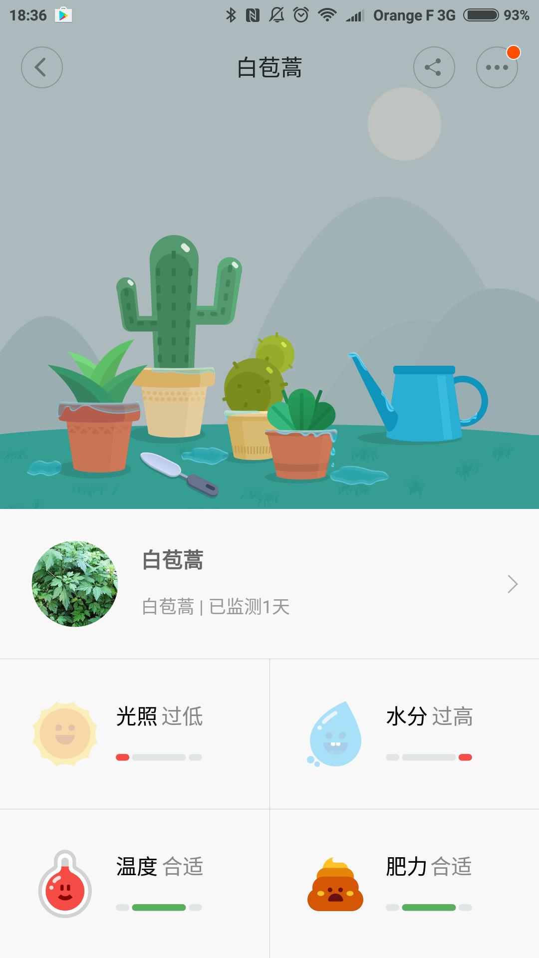 Id e d achat xiaomi mi flower monitor conseil g ant for Plante xiaomi