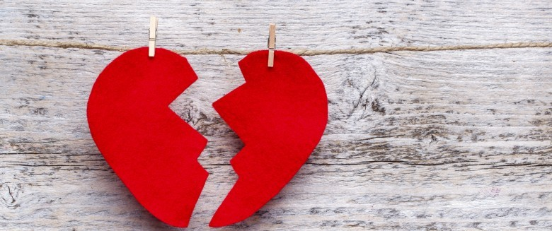 coeur brisé velo