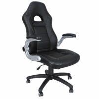 fauteuil bureau noir amazon