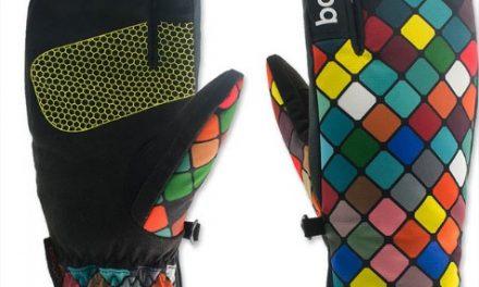 Idée Cadeau Noël: Une paire de gants chaud pour le snowboard dans la poudreuse!