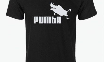 Idée Cadeau Noël: Tshirt Pumba
