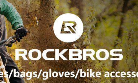 Découverte de la boutique RockBros sur AliExpress dédiée aux cyclistes