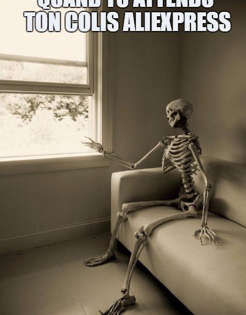 Combien de temps avant de recevoir mon colis AliExpress?