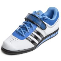 Adidas Powerlift 2 White Black Bright Royal Front 600x600