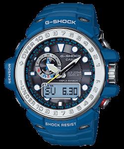 La Gulfmaster est une montre adaptée aux activités maritimes. En plus des  fonctionnalités classiques d une G-Shock, les principales fonctionnalités  d une ... dbc8c64fc110