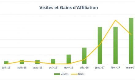 Combien rapporte un site? Mois 9 – Avril 2017 : 68€