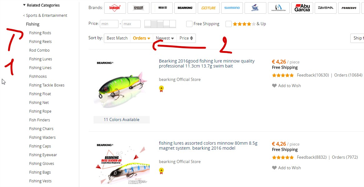 How To Find Best Selling Products On AliExpress