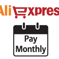 monthly pay aliexpress