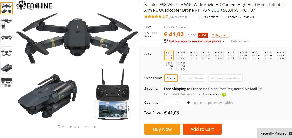 dronex pro vs dji tello