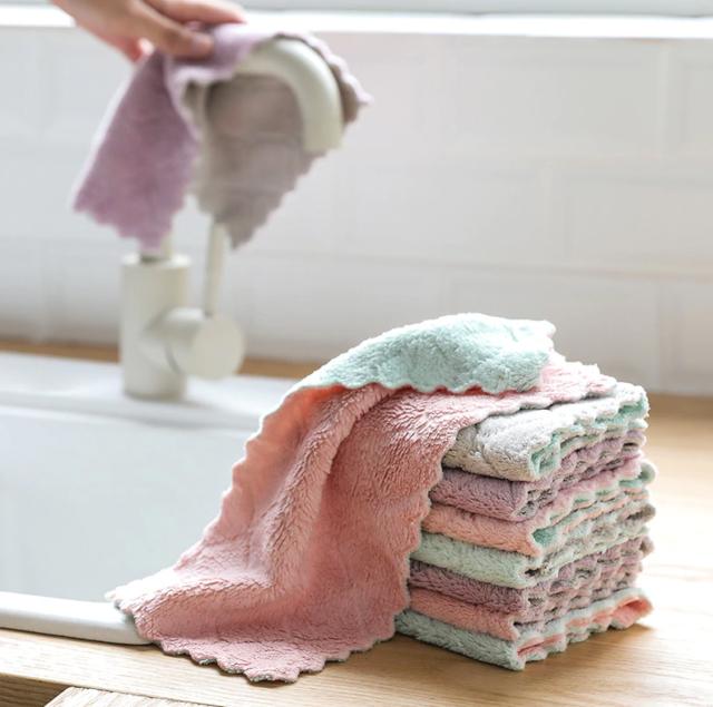 serviette torchon micro fibre pas cher