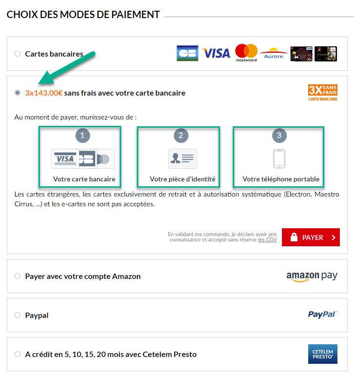 carte but paiement 10 fois Comment payer en plusieurs fois chez BUT ? | Conseil Géant